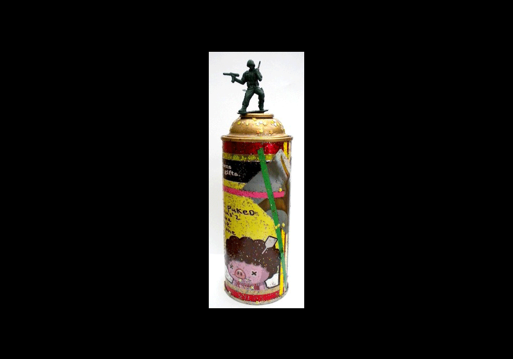 6-MIX MEDIA ON SPRAY CANS